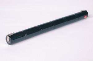 Akkupack Notlicht Notbeleuchtung 7,2V / 1500mAh (1,5Ah) Stabform mit Faston Anschlüssen