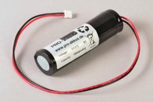 NiCd Notbeleuchtung Akku 2,4V / 1,8Ah passend für Elubat Ref:275 608