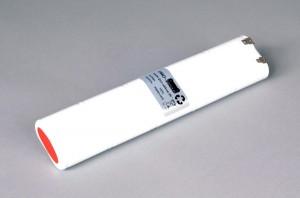 Ni-Cd Akkupack Notlicht Notbeleuchtung 12V / 2500mAh (2,5Ah) L5x2 Stab mit Faston Anschlüssen