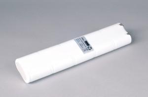 Ni-Cd Akkupack Notlicht Notbeleuchtung 12V / 4500mAh (4,5Ah) L5x2 Stab, Faston Anschlüssen