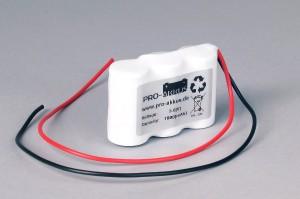 Ni-Cd Akkupack Notlicht Notbeleuchtung 3,6V / 1800mAh (1,8Ah) F3x1 Reihe mit Kabel