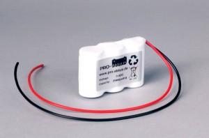 Ni-Cd Akkupack Notlicht Notbeleuchtung 3,6V / 2000mAh (2,0Ah) F3x1 Reihe mit Kabel