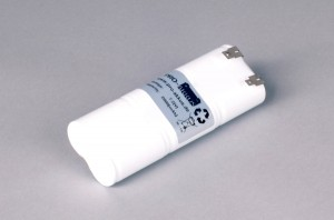 Ni-Cd Akkupack Notlicht Notbeleuchtung 7,2V / 2000mAh (2,0Ah) L3x2 Stab, Faston Anschlüsse