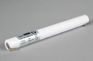 Ni-Cd Akkupack Notlicht Notbeleuchtung 6,0V / 1700mAh (1,7Ah) L5x1 Stab, Faston Anschlüsse