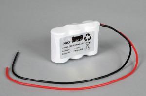 Ni-Cd Akkupack Notlicht Notbeleuchtung 3,6V / 1700mAh (1,7Ah) F3x1 Reihe mit Kabel