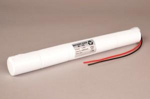 Akkupack Notbeleuchtung 6,0V / 4000mAh (4,0Ah) Stab mit Kabel passend für Beghelli 415032000