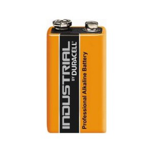 Duracell Industrial 9V (6LF22), ID1604 Alkaline Batterie