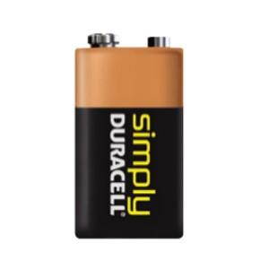 Duracell Simply 9V (6LR61), MN1604 Alkaline Batterie