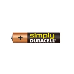 Duracell Simply AAA (LR3), MN2400 Alkaline Batterie
