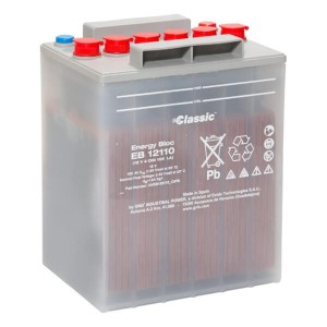 Classic Energy Bloc EB12110 - 12V | 4 OGi 105 LA | 105Ah (c10) Batterie