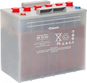 Classic Energy Bloc EB12160 - 12V |  6 OGi 158 LA | 158Ah (c10) Batterie