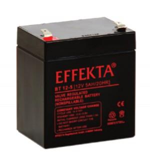 Effekta BT12-5 12V 5Ah Blei-Akku / AGM Batterie