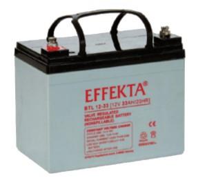 Effekta BTL12-33 12V 33Ah Blei-Akku / AGM Batterie