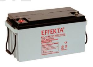 Effekta BTL12-65 12V 65Ah Blei-Akku / AGM Batterie