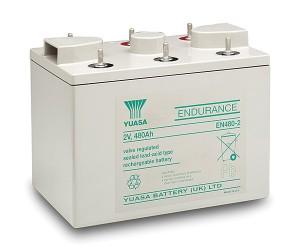 Yuasa EN480-2 2V 480Ah Blei-Akku / AGM Batterie