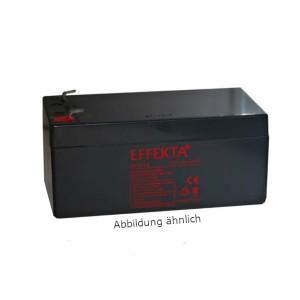 Effekta BT12-1,2 12V 1,2Ah Blei-Akku / AGM Batterie