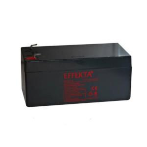 Effekta BT12-3,2 12V 3,2Ah Blei-Akku / AGM Batterie