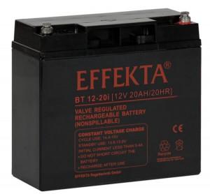 Effekta BT12-20I 12V 20Ah Blei-Akku / AGM Batterie