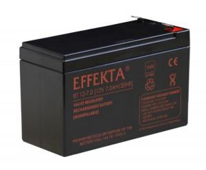 Effekta BT12-7.0 VdS 12V 7Ah Blei-Akku / AGM Batterie