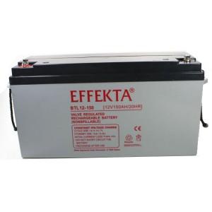 Effekta BTL12-150 12V 150Ah Blei-Akku / AGM Batterie