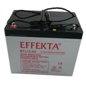 Effekta BTL12-60 12V 60Ah Blei-Akku / AGM Batterie