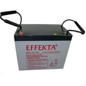 Effekta BTL12-75 12V 75Ah Blei-Akku / AGM Batterie