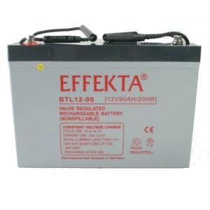 Effekta BTL12-90 12V 90Ah Blei-Akku / AGM Batterie