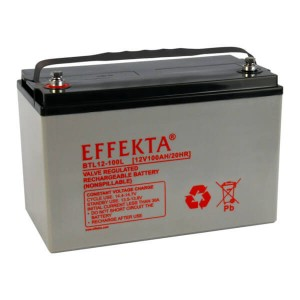 Effekta BTL12-100L 12V 100Ah Blei-Akku / AGM Batterie