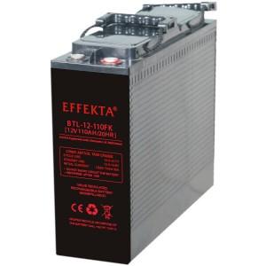 Effekta BTL12-110FK 12V 110Ah Front-Terminal AGM Batterie