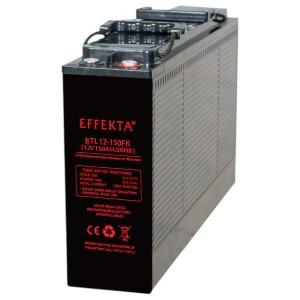 Effekta BTL12-150FK 12V 150Ah Front-Terminal AGM Batterie