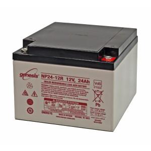 EnerSys Genesis NP24-12 Akku - 12V 24Ah AGM Batterie VdS