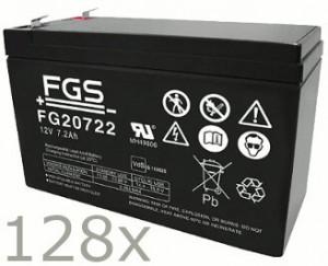 Batteriesatz für APC Silcon SL20KHB2 (high quality)