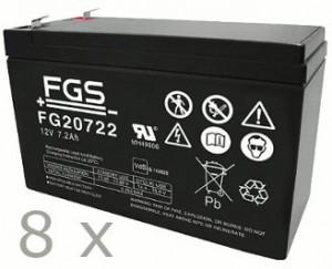 Batteriesatz für APC RBC27 (FGS)