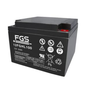 FGS 12FGHL100 12V 24Ah Blei-Akku / AGM Batterie Hochstrom Longlife