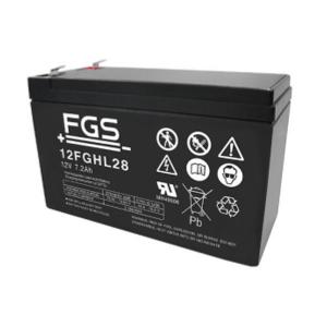 FGS 12FGHL28 12V 7,2Ah Blei-Akku / AGM Batterie Hochstrom Longlife