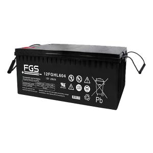 FGS 12FGHL604 12V 200Ah Blei-Akku / AGM Batterie Hochstrom Longlife