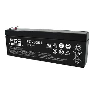 FGS FG20261 12V 2,6Ah Blei-Akku / AGM Batterie