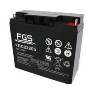 FGS FGC22205 12V 22Ah Blei-Akku / AGM Batterie Zyklentyp