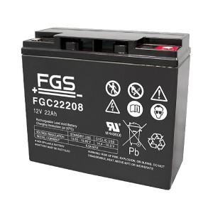 FGS FGC22208 12V 22Ah Blei-Akku / AGM Batterie Zyklentyp