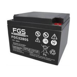 FGS FGC22805 12V 28Ah Blei-Akku / AGM Batterie Zyklentyp
