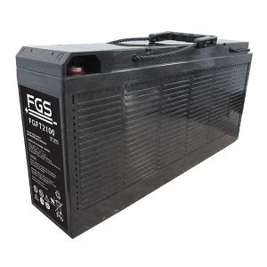 FGS FGFT2100 12V 100Ah Blei-Akku / AGM Batterie Front Terminal