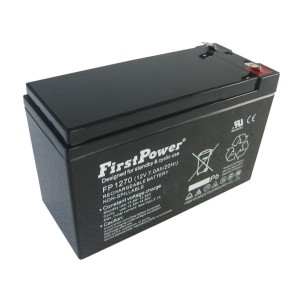 FirstPower FP1270B 12V 7Ah Blei-Akku / AGM Batterie VdS Faston 6,3mm