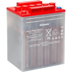 GNB Exide Classic OPzS-Block Batterie 12V 2 OPzS 100 LA