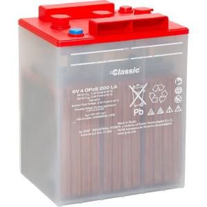 GNB Exide Classic OPzS-Block Batterie 6V 4 OpzS 200 LA