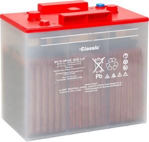 GNB Exide Classic OPzS-Block Batterie 6V 6 OPzS 300 LA