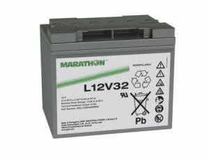 Exide Marathon L12V32 12V 33Ah Bleiakku