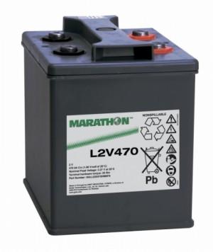 Exide Marathon L2V470 2V 507Ah Bleiakku