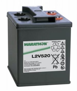Exide Marathon L2V520 2V 559Ah Bleiakku