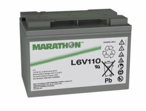 Exide Marathon L6V110 6V 118Ah Bleiakku