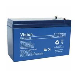 VISION LFP1210 LiFePo4  Lithium Akku - 12V 10Ah
